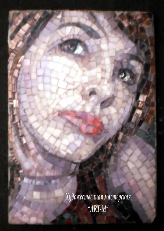 Полынцова портреты мозаичные работы